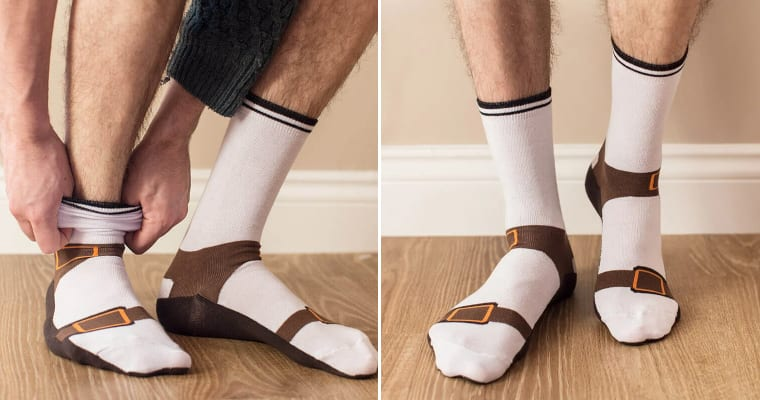 Sandal Socks: This Summer's Fashion Sensation