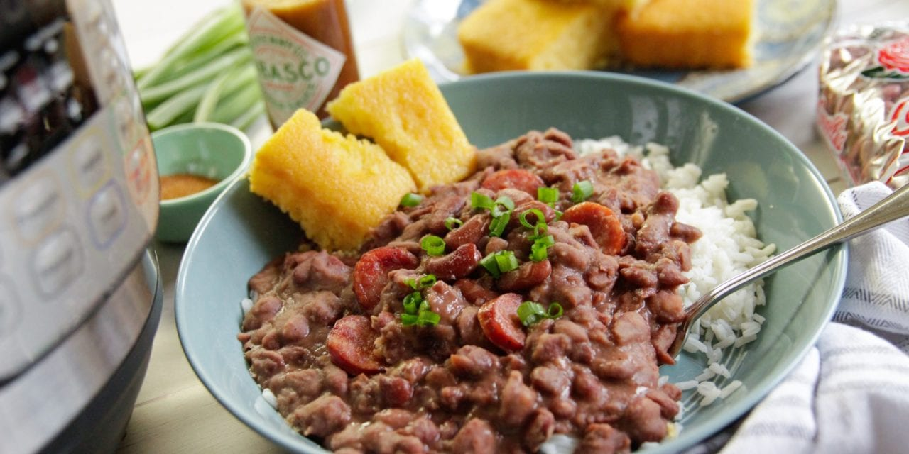 Immediate Pot New Orleans-Style Red Beans and also Rice:: Recipes:: Camellia Brand