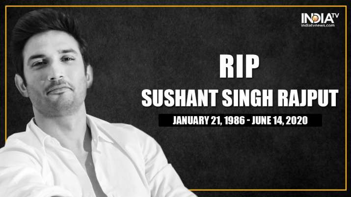 Sushant Singh Rajput dedicates suicide; last ceremonies to be held on Monday|UPDATES|Stars Information– India TELEVISION