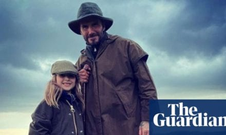 David Beckham leads the means as males flock to 'cottagecore' look|Fashion|The Guardian