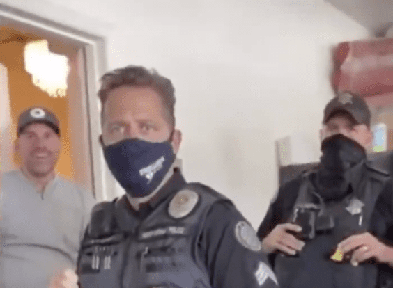 Video: Qanon Karen Destroys Target Face Mask Display Gets Arrested And Her Husband Thinks It's Hilarious — Dean Blundell's Sports, News, Podcast Network