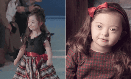 4-Year-Old Girl With Down Syndrome Walks The Ramp In Fashion Show And It's Heartwarming