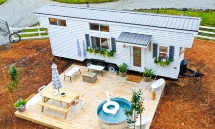 Family's fantastic farmhouse-style tiny home looks like straight from a Pinterest feed