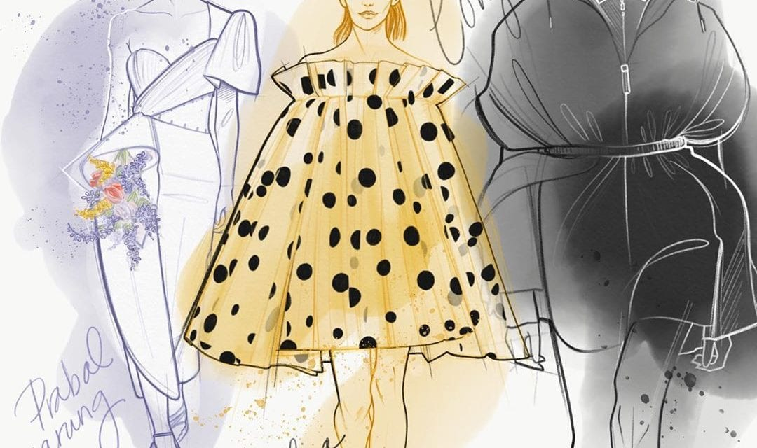 Dena Cooper's Illustrations Embody the Spirit of Fashion