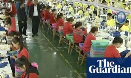 'Virtually entire' fashion industry complicit in Uighur forced labour, say rights groups | Global development | The Guardian