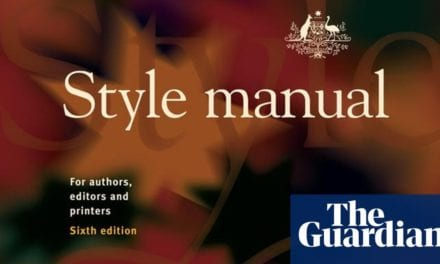 'Out of control': Australia has a brand-new style manual, yet not everybody enjoys|Australia news|The Guardian