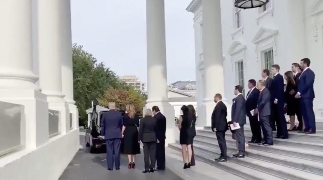 President Trump Pays Final Respects To His Brother, Robert, In Historical Fashion At The White House