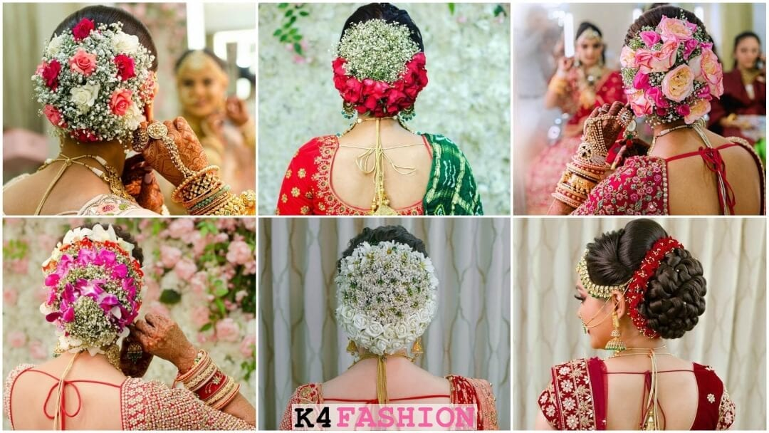 Gujrati Bridal Hairstyles To Rock In Your Wedding Event – K4 Style