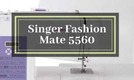 Singer Fashion Mate 5560 Review – July 2020