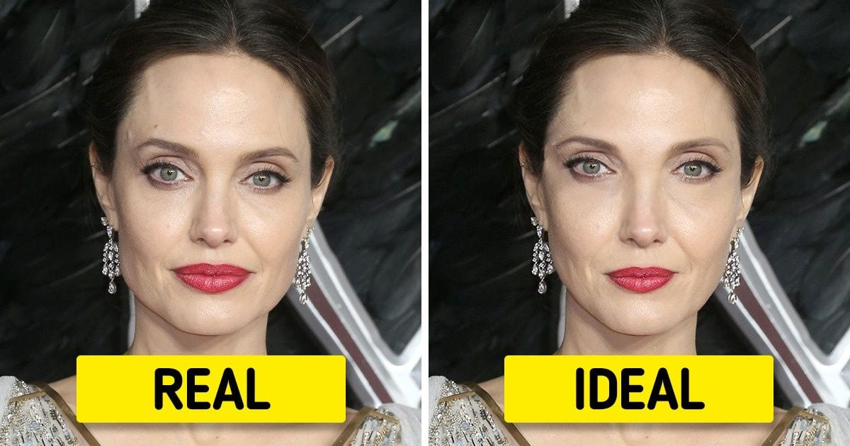 What 15 Celebrities Would Resemble If Their Face Fit the Golden Proportion