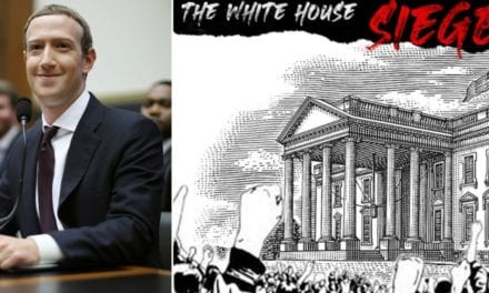 Facebook Allows ANTIFA-Style Group to Organize a 'White House Siege' on Their Platform