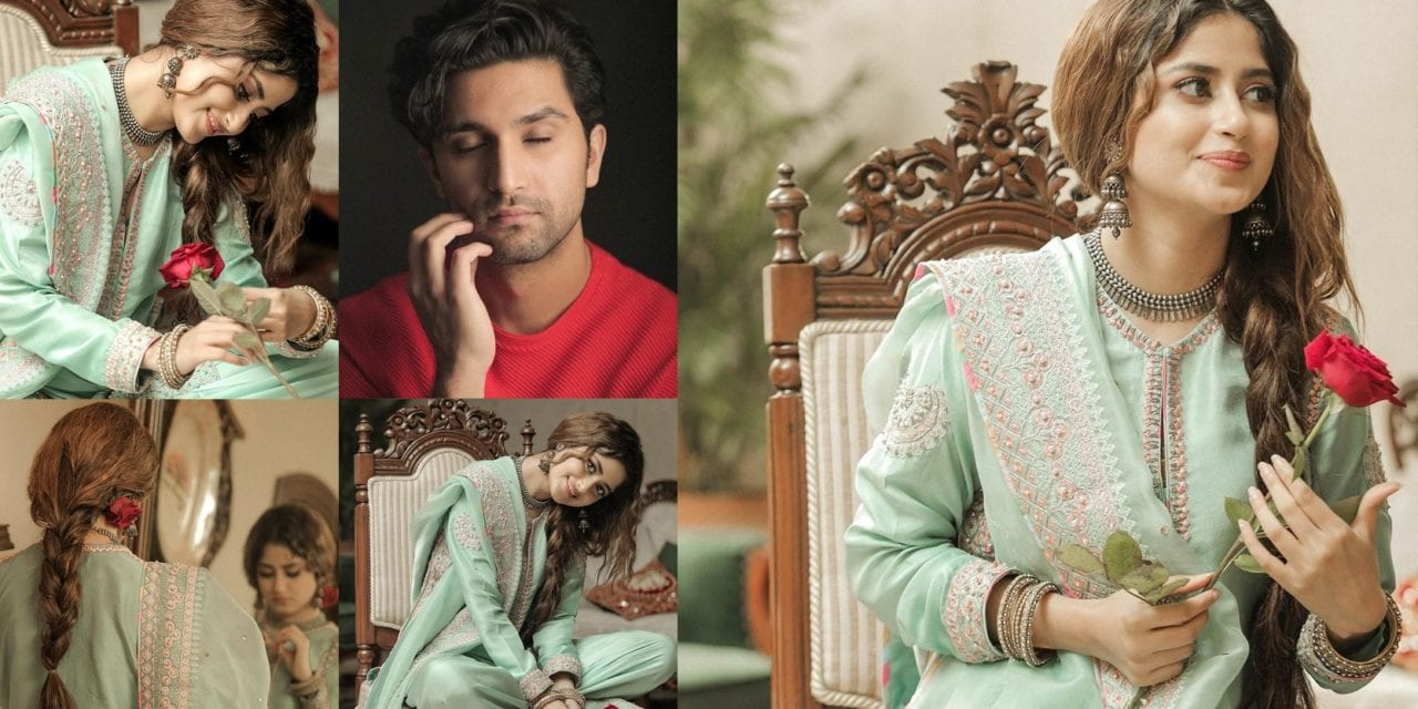 Sajal ALy and Ahad Raza Mir shared their Latest Pictures after a Long Time  | Pakistani Drama Celebrities