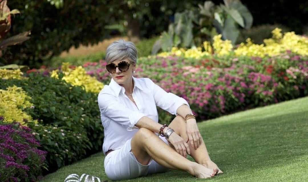 summer basics in white | a retrospective | Style At A Certain Age