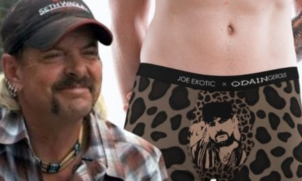 Joe Exotic Launching Underwear Fashion Line With His Face on Crotch
