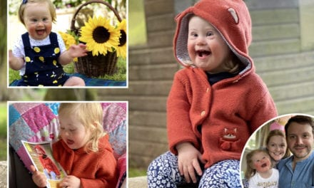 Lady, 2, with Down's Syndrome becomes face of youngsters's fashion campaign