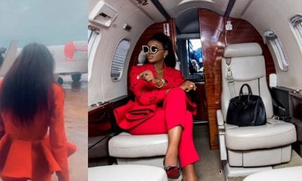 BBNaija's Ka3na flies to Port Harcourt for her homecoming party in style (Video)