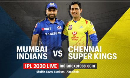 IPL 2020, MI vs CSK Highlights: CSK win by 5 wickets|Sports Information, The Indian Express