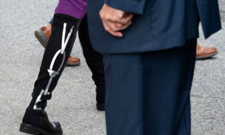 Jill Biden's boots newest style selection to urge 'vote'.
