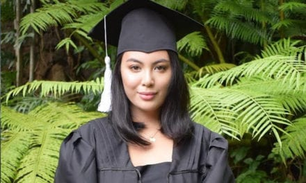 LOOK: Dominique Cojuangco now holds 2 style degrees|ABS-CBN News