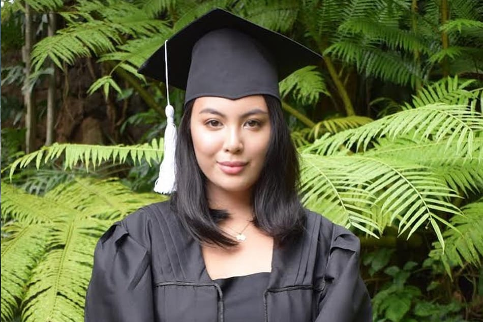 LOOK: Dominique Cojuangco now holds 2 style degrees ABS-CBN News