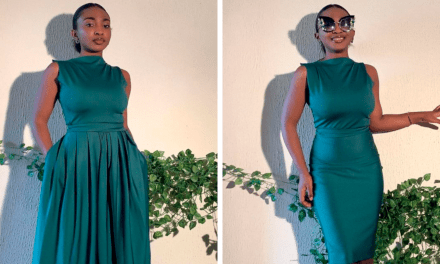Fashion Designer From Nigeria Creates Dresses That Can Be Styled In Many Different Ways (18 Pics)