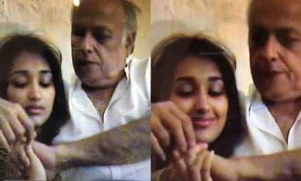 After Rhea Chakraborty, Mahesh Bhatt's old video with 16-year-old Jiah Khan goes viral | Celebrities News – India TV