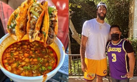 Lakers Star Anthony Davis Celebrates First Championship with Michoacán-Style Birria de Chivo in L.A.