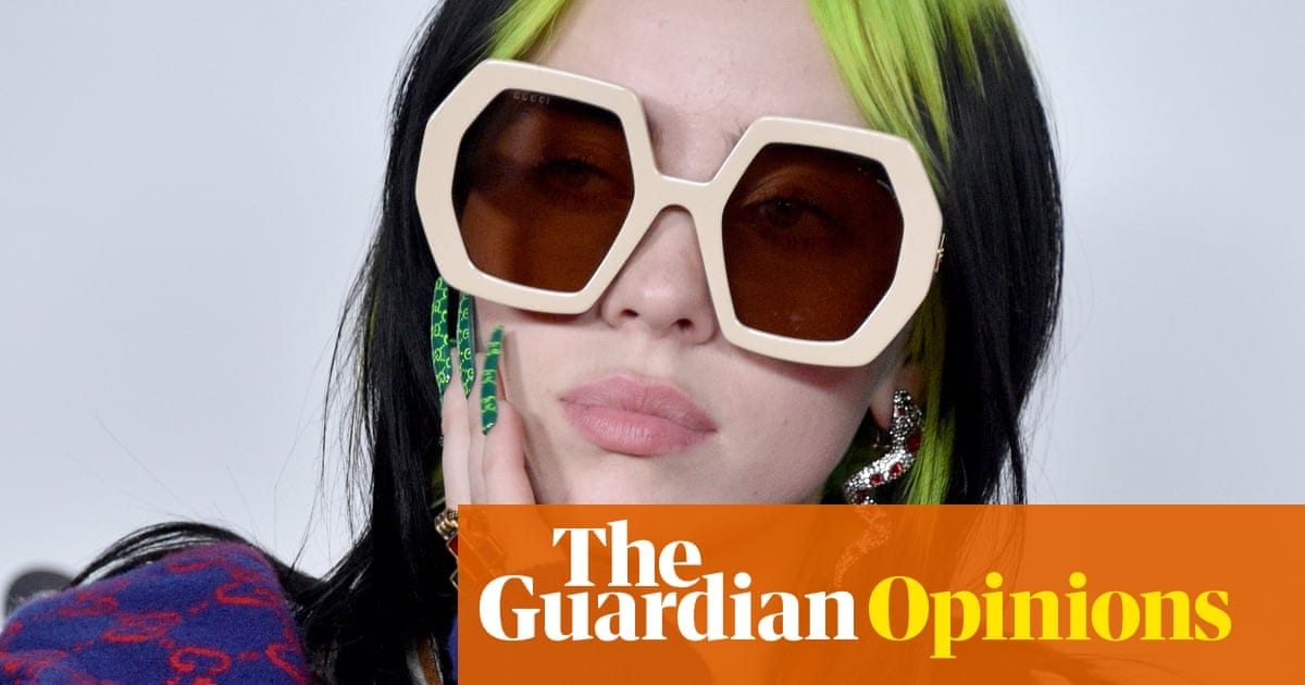 A man tried to body shame the gloriously unabashed Billie Eilish. It didn't go well | Life and style | The Guardian