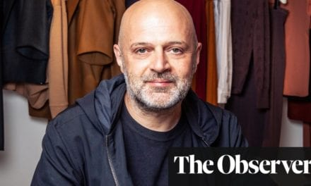 Hussein Chalayan: 'Gender-free clothing is the future' | Life and style | The Guardian