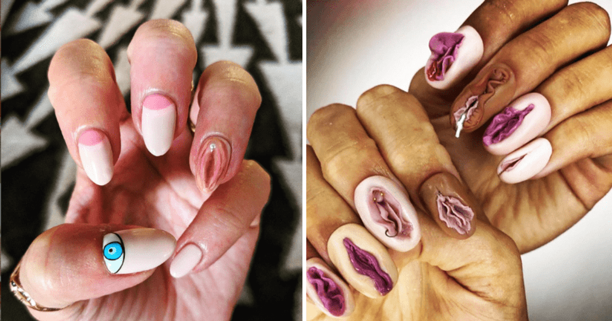 Vagina Nails Are The Latest Fashion Trend And They're Rather Outrageous