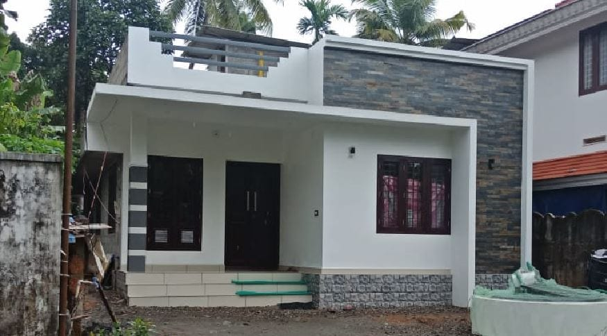 750 Sq Ft 2BHK Contemporary Style Single Floor House and Free Plan – Home Pictures