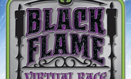 Black Flame Candle Virtual Race | Disney Inspired Fashion Plus RunDisney Apparel | Main Street Bella