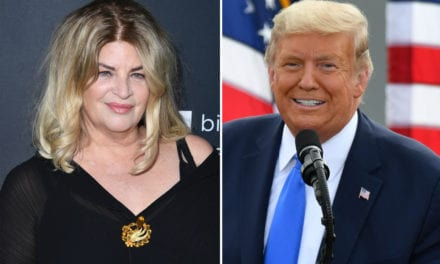 Kirstie Alley gets attacked by celebrities after endorsing Trump