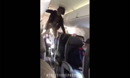 Video shows woman having 'Exorcist-style' meltdown on flight