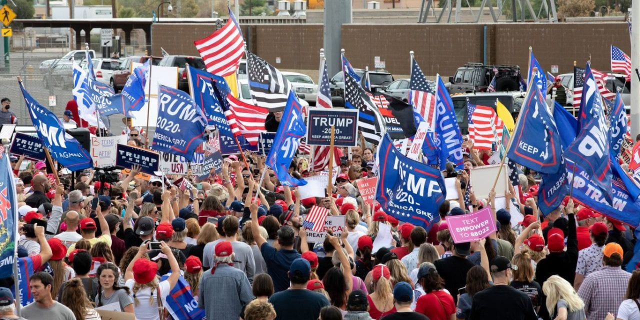 Trump to continue to hold campaign-style rallies as legal team girds up