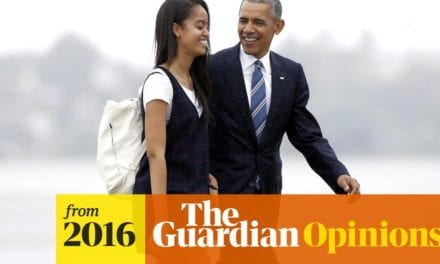 So suppose Malia Obama wishes to dance and also Melania Trump when presented naked?|Life and also design|The Guardian
