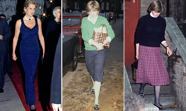 Princess Diana was dazzling but it's not a fashion inspiration, writes ex-editor of Vogue | Daily Mail Online