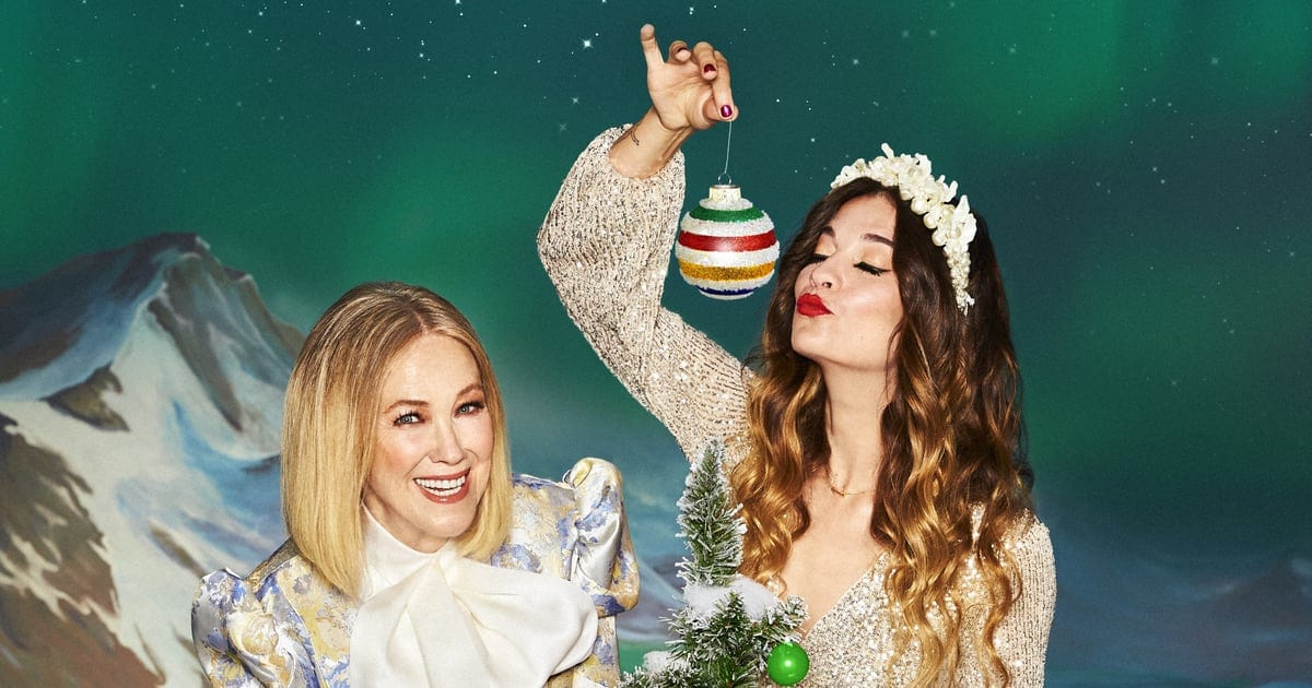 Schitt's Creek's Moira and Alexis Star in a Holiday Campaign | POPSUGAR Fashion