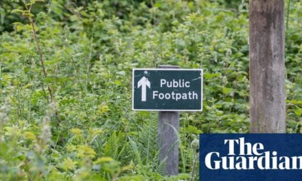 More than 49,000 miles of paths lost from maps in England and Wales | Life and style | The Guardian