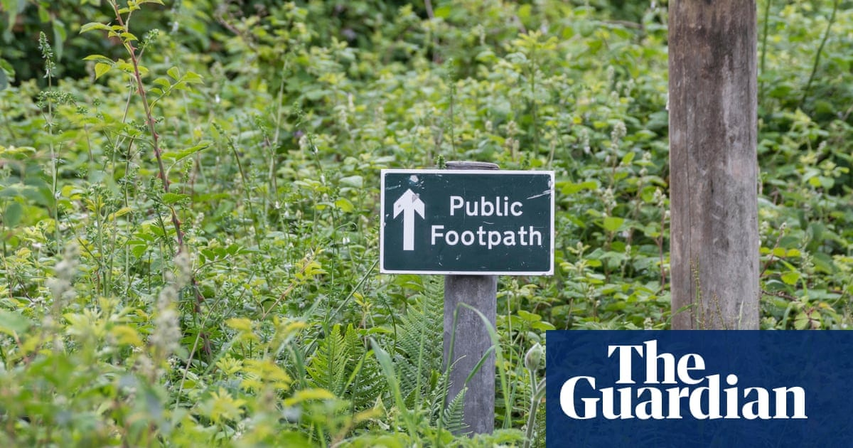 More than 49,000 miles of paths lost from maps in England and Wales   Life and style   The Guardian