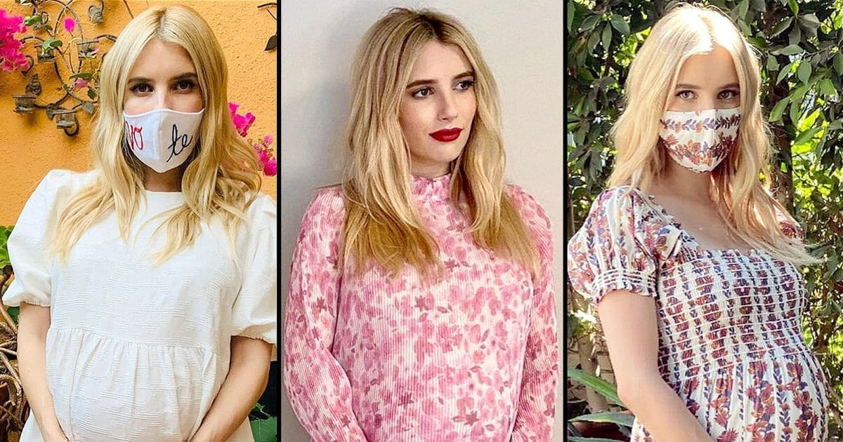Proof That Emma Roberts Has the Chicest Maternity Style