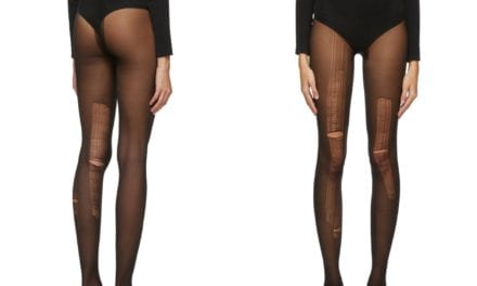 'Fashion is officially dead': Shoppers mock Gucci for selling ripped tights for £146