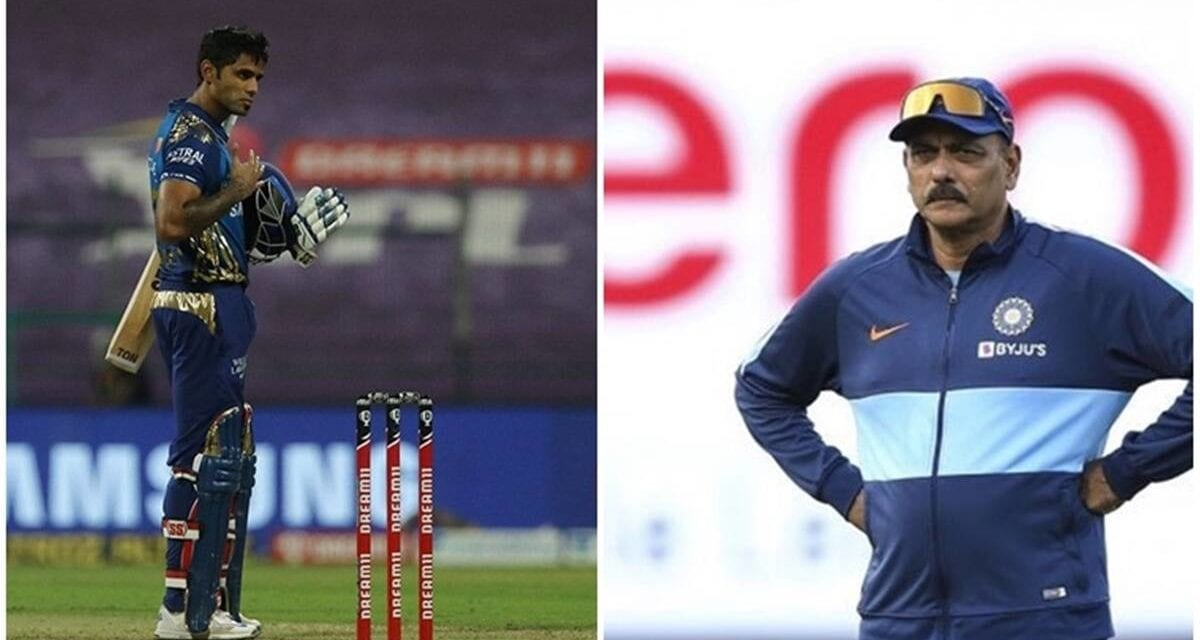 Ravi Shastri sends a message to Suryakumar Yadav after Australia snub|Sports Information, The Indian Express