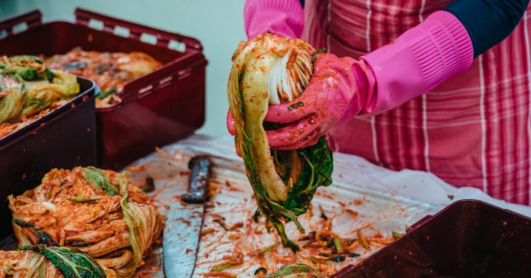 Kimchi Making at Home Was Going Out of Style. Rural Towns to the Rescue. – The New York Times