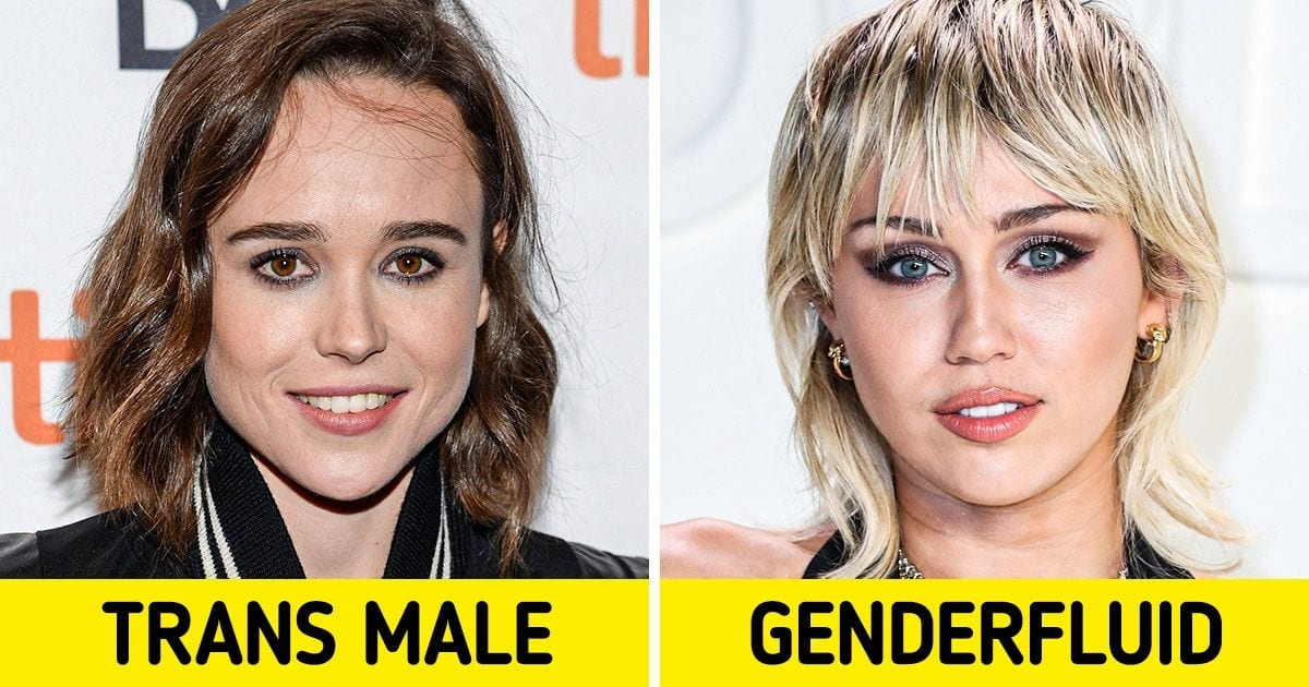 13 Celebrities Who've Proudly Come Out as Non-Binary or Transgender