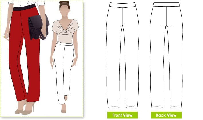 Free Barb's Pant Pattern Download – Style Arc