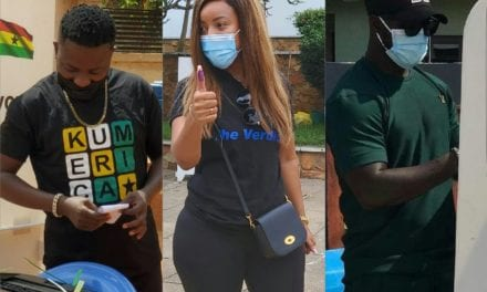Photos: How The Celebrities Turned Up In Style For Ghana's Election Day – Ameyaw Debrah