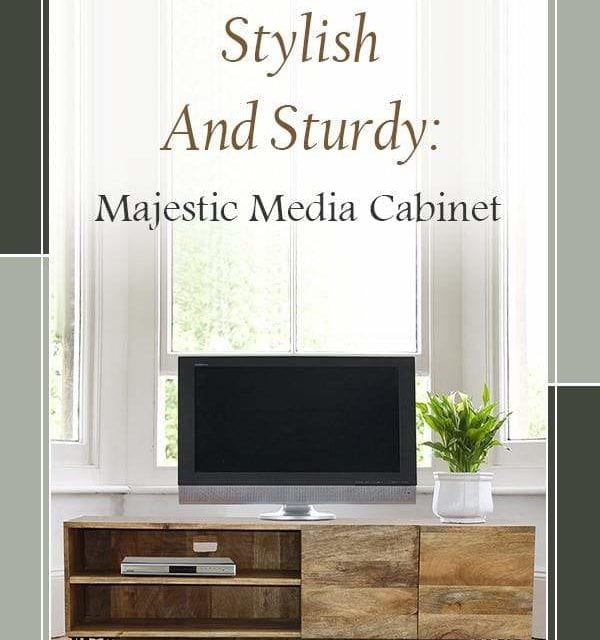 Smart Looks and Better Storage : Industrial Style TV Stand – Casagear
