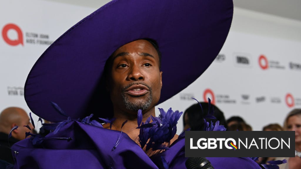 """Billy Porter is co-hosting """"Dick Clark's New Year's Rockin' Eve"""" to say goodbye to 2020 in style / LGBTQ Nation"""