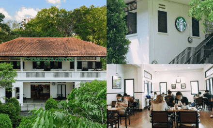 2-storey colonial-style black & white Buona Vista bungalow houses 'most beautiful' Starbucks in S'pore – Mothership.SG – News from Singapore, Asia and around the world